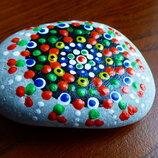 Камень, ручная роспись .