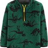 Флисовая кофта с динозаврами для мальчика Carter's