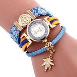 Стильные модные оригинальные женские часы - браслет FanTeeDa