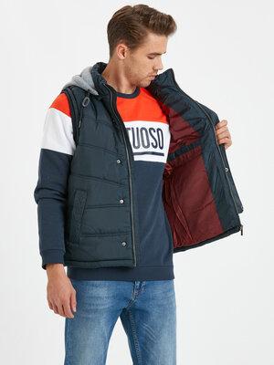 Жилетка, куртка, безрукавка новая мужская, Турция, размер S, M, L, 44, 46, 48, 50