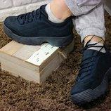 Женские кеды кроссовки на высокой подошве в стиле GUCCI