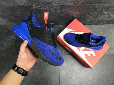 Мужские кроссовки Nike Air Max 270, синие с черным