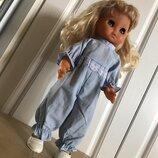 Одежда комбинезон на куклу пупса 36 см