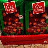 Шоколад Fin Carre с цельным орехом 100г Фин Кер молочный шоколад с фундуком 100г