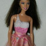 кукла Барби Mattel мулатка с тату