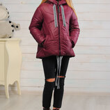 Новинка весны 2019 Демисезонная куртка для девочек Лола Размеры 128- 158