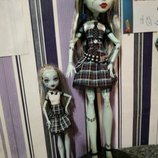Кукла Monster high Frankie она живая