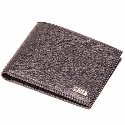 Кошелек кожаный Турция Butun 134-004-001 портмоне натуральная кожа коричневый