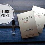 Пробник Chanel Allure Homme Sport