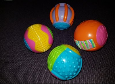 Сенсорные шарики и кубики Fisher Price Фишер Прайс.