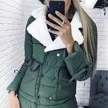 Куртка Пропитка «антиснег» синтепон 30042 , 44 , 46