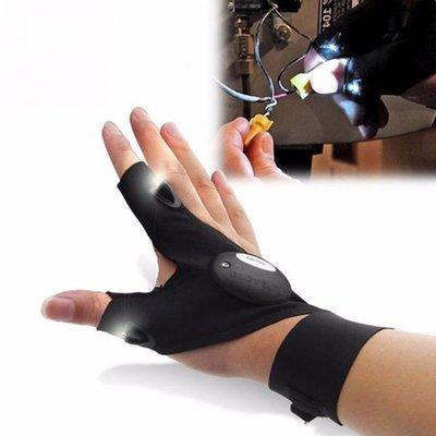 Перчатки со светодиодной подсветкой.