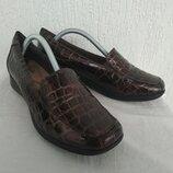 Туфли кожанние Clarks collection р.37.5