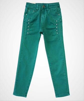 Низкая цена- супер качество Стильные джинсы для девочки Венгрия