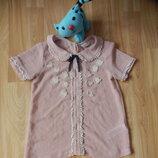 Фирменная блузка next малышке 6 лет состояние отличное