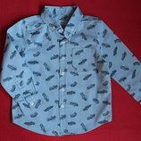 Рубашка F&F для мальчика 2-3 года