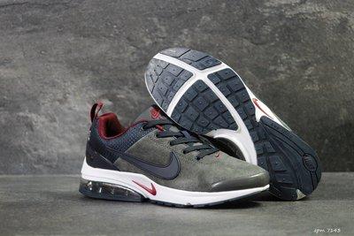 Nike кроссовки мужские демисезонные темно серые 7143