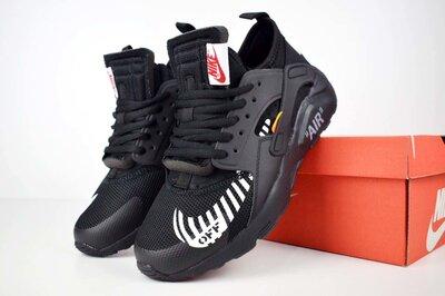 Кроссовки мужские Nike Huarache x OFF White black