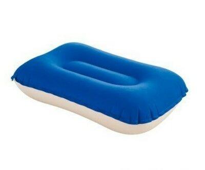 Надувная тканевая подушка Bestway 69034, синяя, 42 х 26 х 10 см