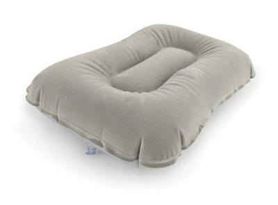 Надувная флокированная подушка Bestway 67121, 42 х 26 х 10 см, серая