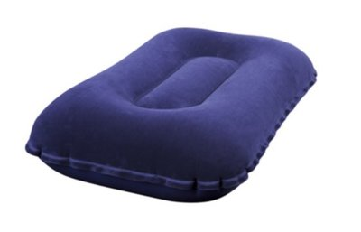 Надувная флокированная подушка Bestway 67121, 42 х 26 х 10 см, синяя