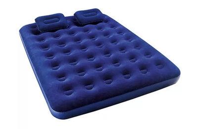 Надувной матрас Bestway 67374, 152 х 203 х 22 см, с насосом и подушками. Двухместный