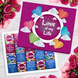 Шоколадный набор Love of my life 100г