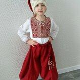 Козак, козачек украинский национальный костюм шапка, пояс, шаровари, вишиванка, на прокат киев
