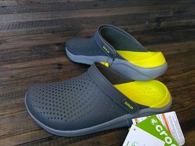 Сабо crocs crocband literide clog gray original
