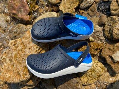 Крокс Сабо синие crocs literide clog navy blue original