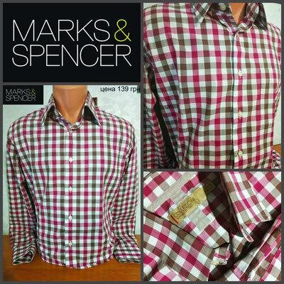 Рубашка от Marcs&Spenсer, оригинал, р.L, пр-во Италия