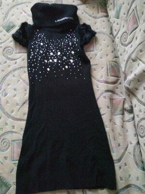 7a4c0cdcf81 Продам б.у. туника-платье  250 грн - женские повседневные платья в ...