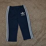 спортивные штаны мальчику Adidas оригинал 18 мес рост 86