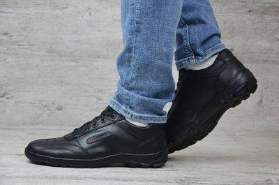 Мужские кожаные кроссовки Colu 01