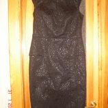 Платье нарядное парча р.12 40