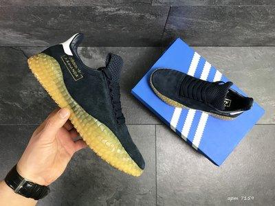 Adidas Kamanda кроссовки мужские демисезонные темно синие 7159