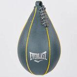 Груша пневматическая каплевидная подвесная Everlast 4215 PU, размер 14,5х27см
