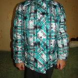 Термо куртка на девочку 134-140 см .