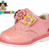 Кожаные туфли для девочки Шалунишка