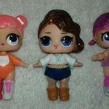 Оригинальные куколки LOL блестящие в одежде и обуви