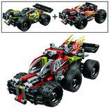 Конструктор Bela 10821 Красный гоночный автомобиль 139 деталей аналог Lego Technic 42073