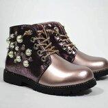 Ботинки Сказка арт.5692-DP Демисезонные ботинки для девочки р. 26 Бу