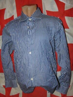 Стильная нарядная брендовая рубашка Charles Tyrwhitt.л-хл