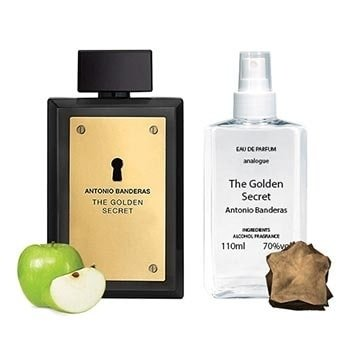Духи Реплика мировых брендов Antonio Banderas The Golden Secret