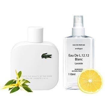 Духи Реплика мировых брендов Lacoste Eau De L.12.12 Blanc