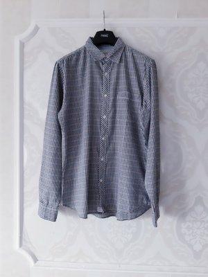 Размер M/L Стильная фирменная хлопковая мужская рубашка