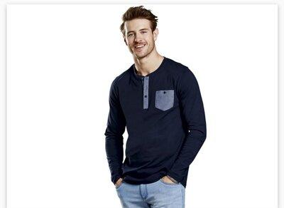 Реглан, футболка с длинным рукавом, 100% котон, германия