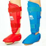 Защита голени с футами для единоборств Vemun 5857 2 цвета, размер S-XL