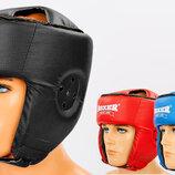 Шлем боксерский открытый с усиленной защитой макушки Boxer 2030 шлем бокс размер M-L, PU 3 цвета