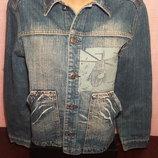 Джинсовая курточка, куртка размер 38 на рост 152 см фирмы Gee Jan, б/у